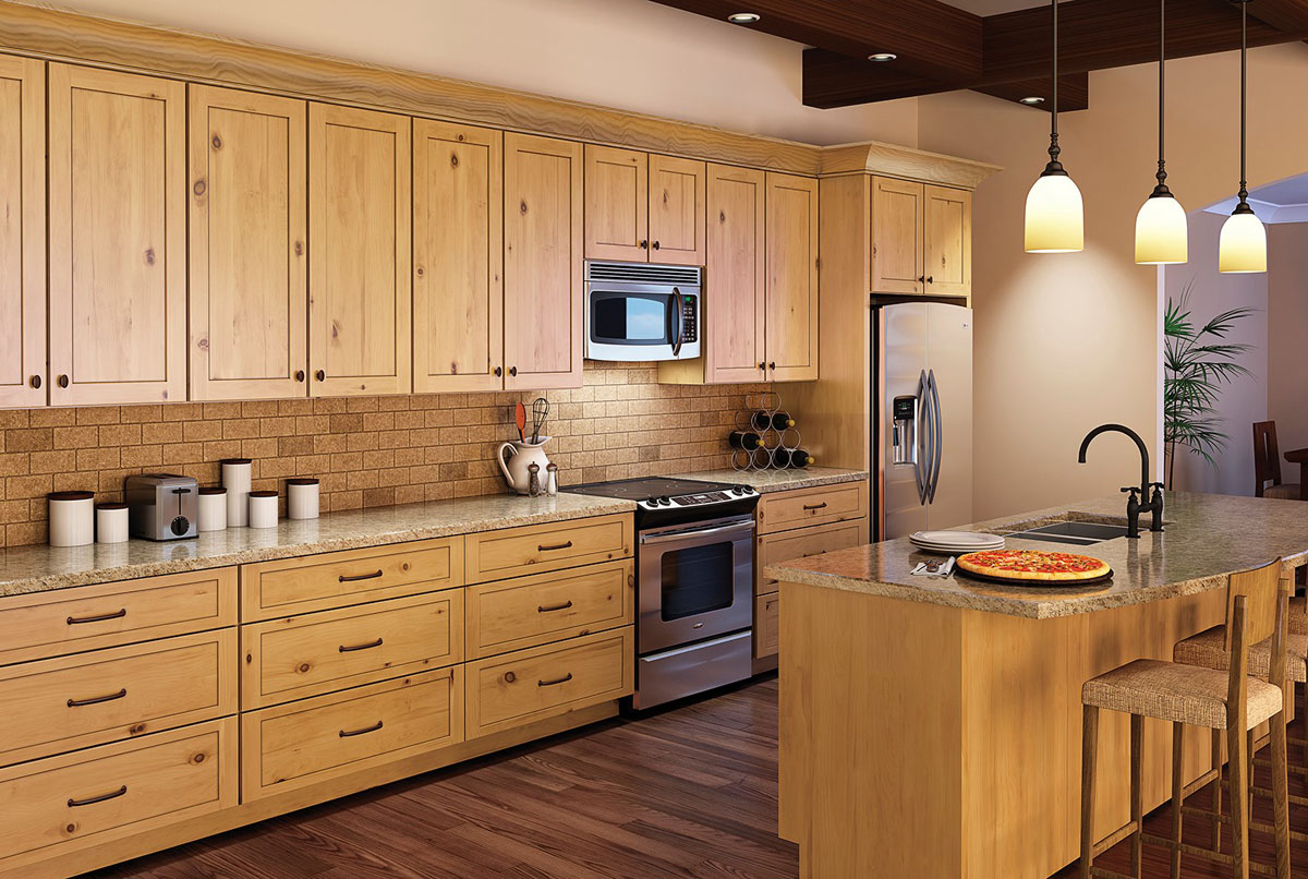 the natural sophistication - Alder Kitchen Cabinets