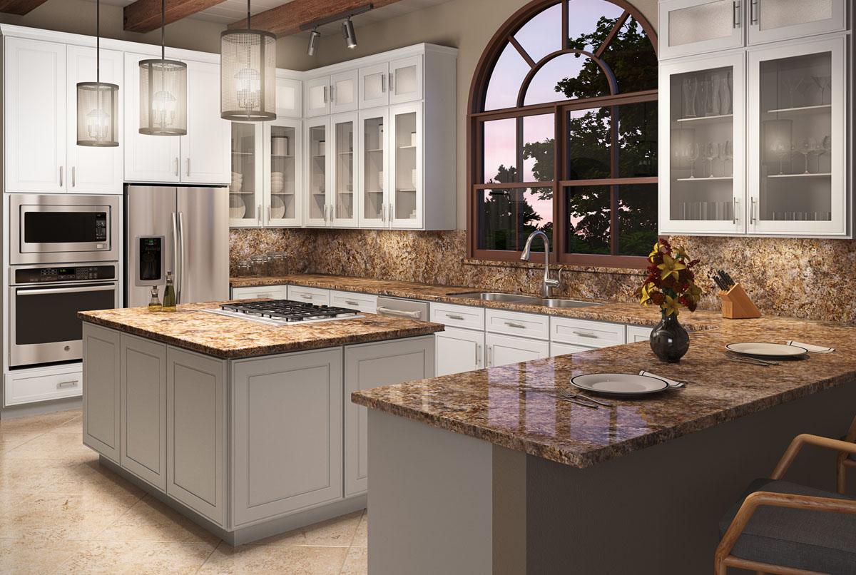 Bedford Maple Kitchen Cabinets Detroit MI Cabinets