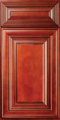 Charleston Cherry Birch Kitchen Cabinets Detroit,