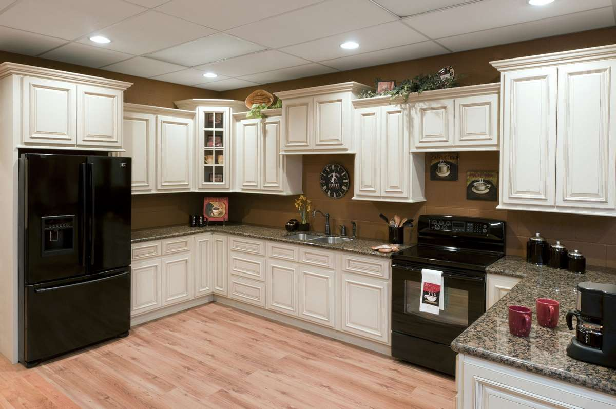 Heritage White Kitchen Cabinets Detroit,