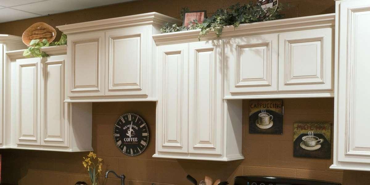 Heritage White Kitchen Cabinets Detroit, - MI Cabinets