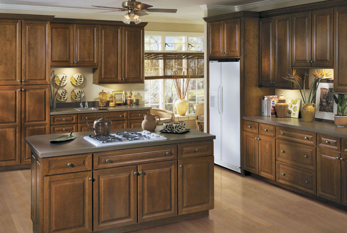 Langdon 5pc arch cherry kitchen cabinets detroit mi for Arch kitchen cabinets