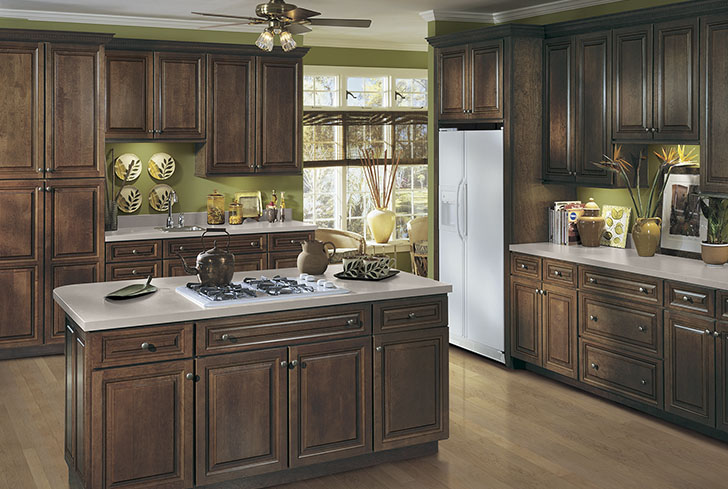 Langdon 5PC Cherry Kitchen Cabinets Detroit, - MI Cabinets