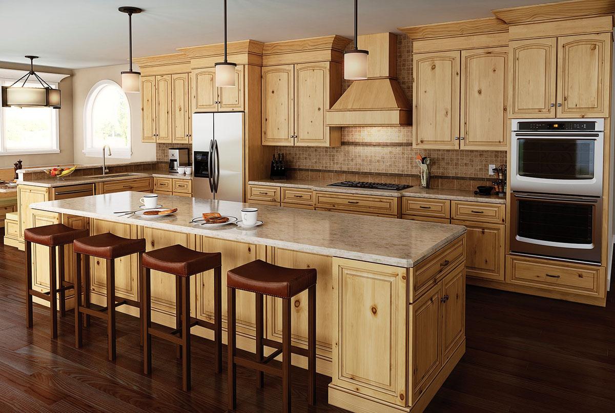 Langdon 5PC Alder Kitchen Cabinets Detroit, - MI Cabinets