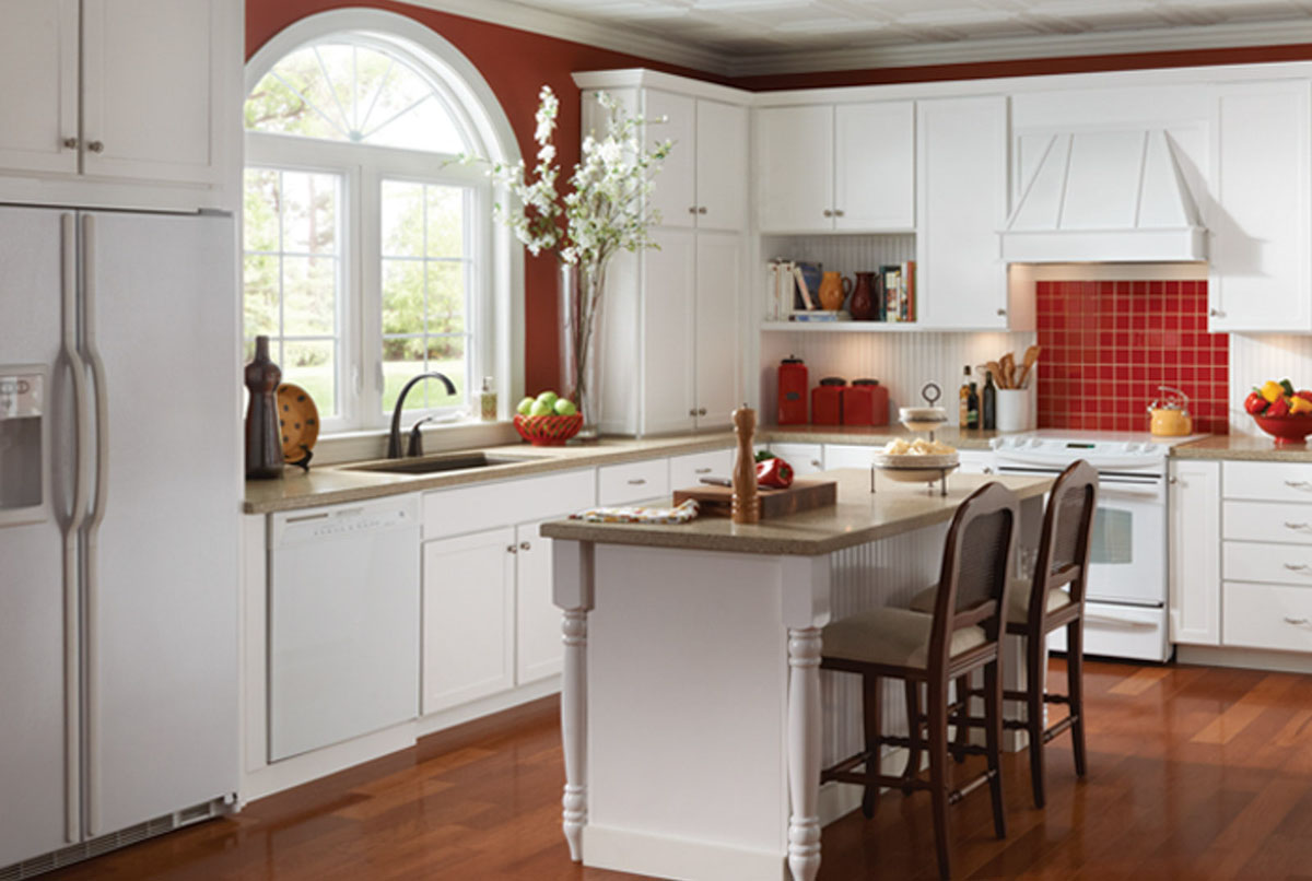 Marianna Thermofoil Kitchen Cabinets Detroit MI Cabinets