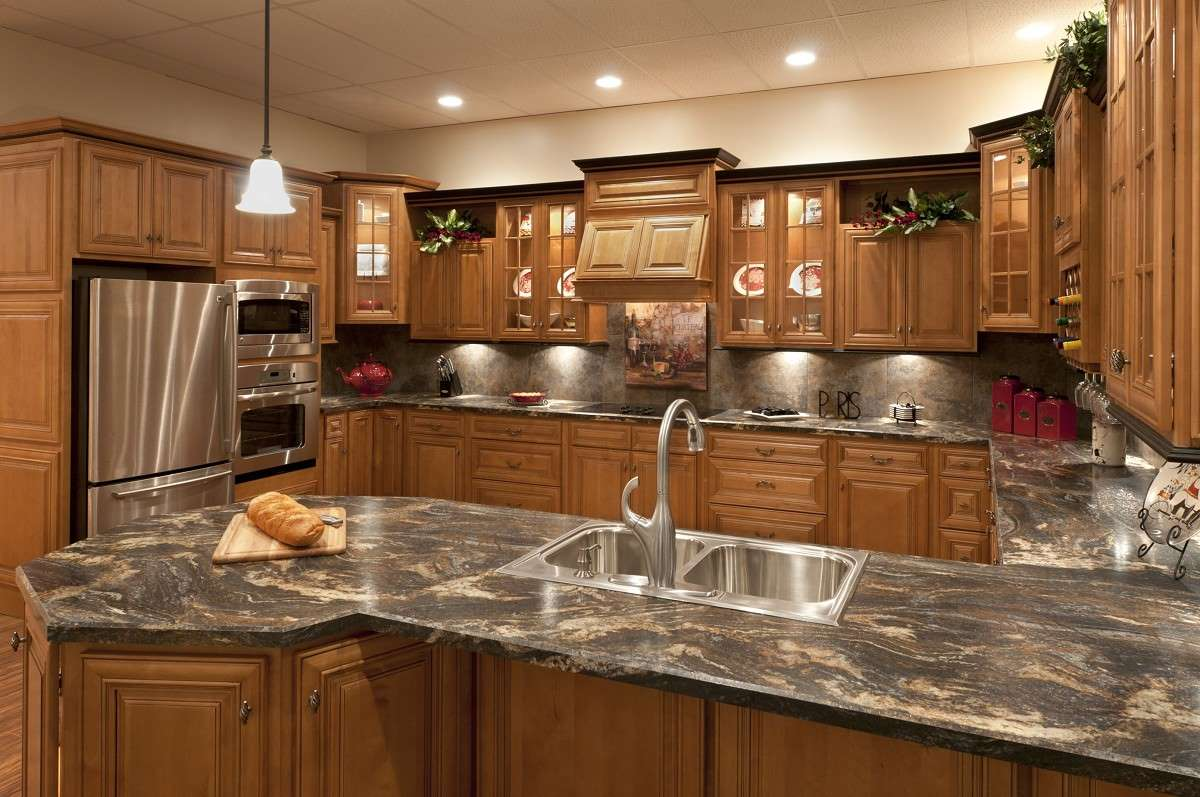Chocolate Glaze Kitchen Cabinets Mocha With A Dark Glaze Kitchen Cabinets Detroit Mi Cabinets