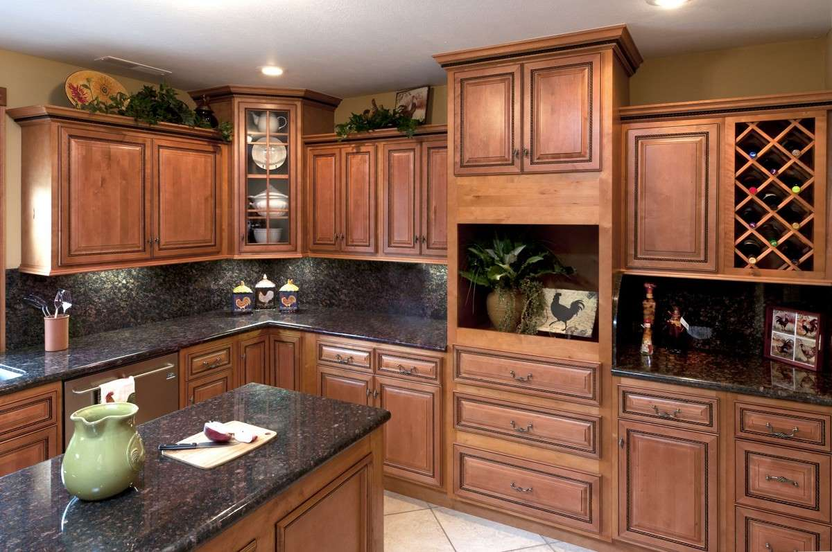 Rope With A Dark Glaze Kitchen Cabinets Detroit Mi Cabinets