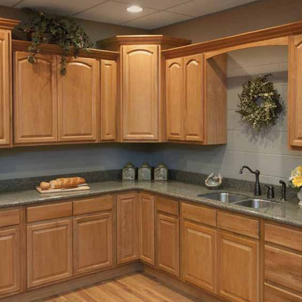 Legacy Oak Cathedral Kitchen Cabinets Detroit, - MI Cabinets
