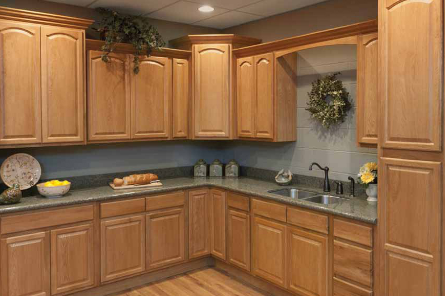 legacy oak cathedral kitchen cabinets detroit mi cabinets. Black Bedroom Furniture Sets. Home Design Ideas
